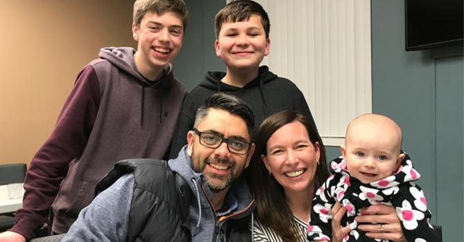 Hiebert Family Newsletter image