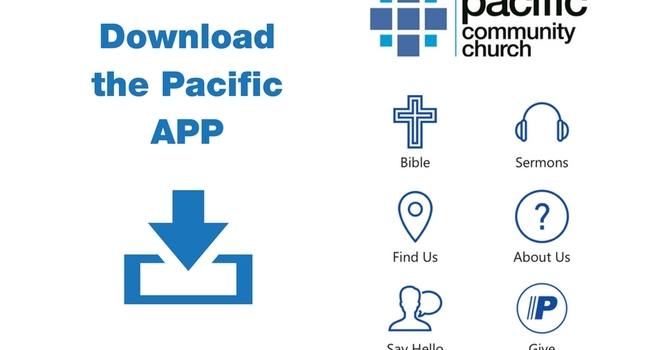 A Pacific Church App and Giving Options at Pacific image