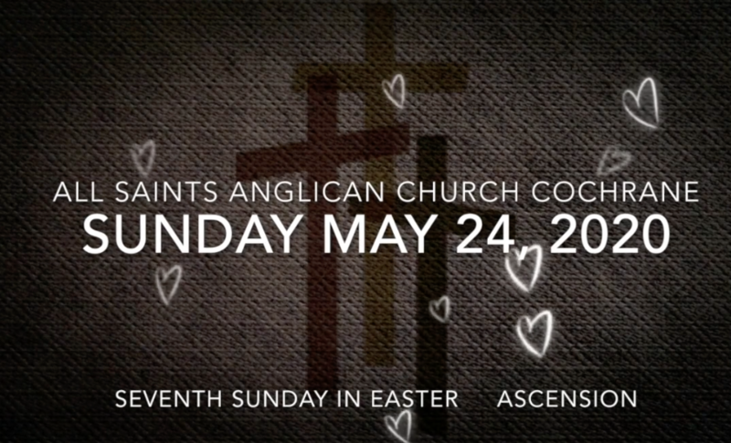 Eucharist Easter 7 May 24