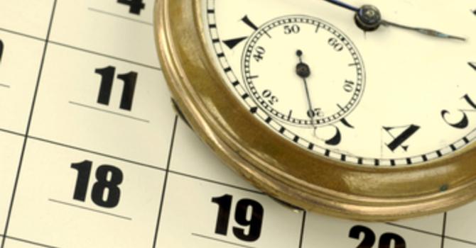 Master Sunday Schedule July-Dec 2012 image