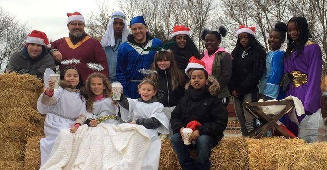 Weston Santa Claus Parade prep image