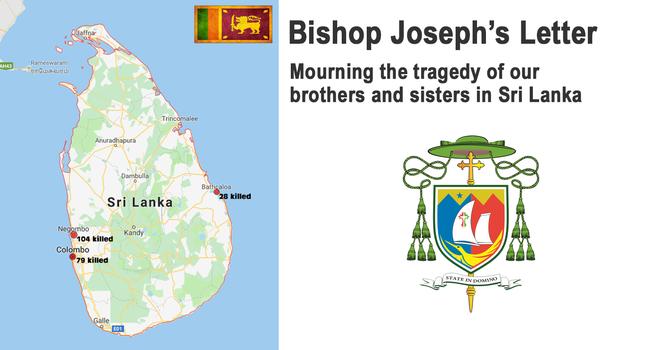 Bishop Joseph's Letter on Sri Lanka image