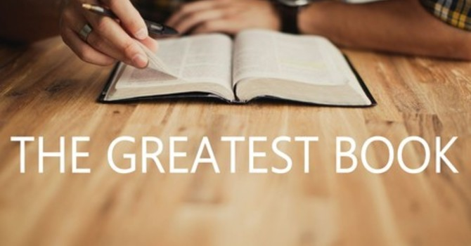The Greatest Book (Part 1)