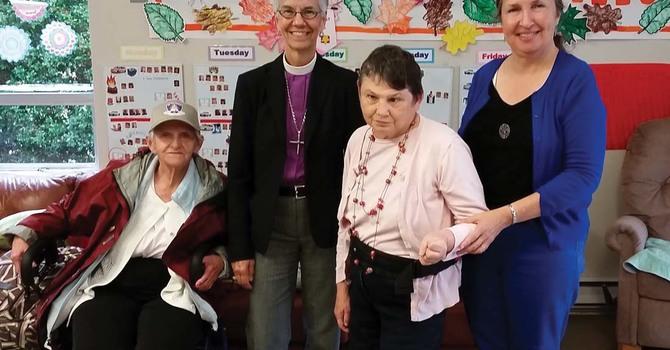 Bishop Melissa Visits L'Arche Vancouver image