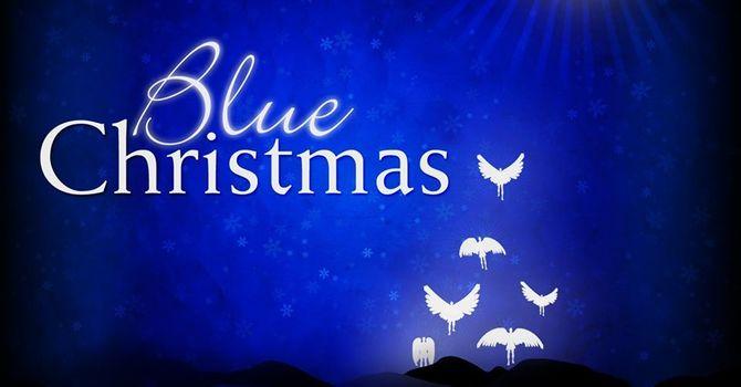 Blue Christmas - Dec. 19, 2019 -  Rev. Karen Hollis image