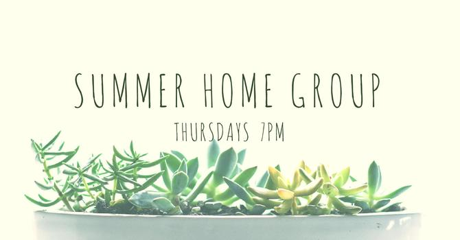 Home Groups | Summer 2017  image