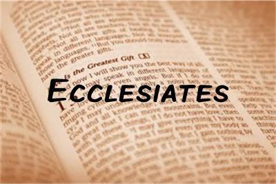Ecclesiates