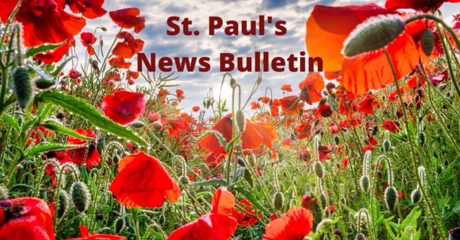 Sunday, May 31st News Bulletin image