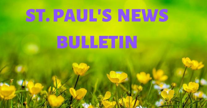 Sunday, April 19th News Bulletin image