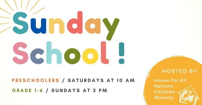 Preschoolers Sunday School