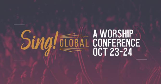 Sing Worship Conference image