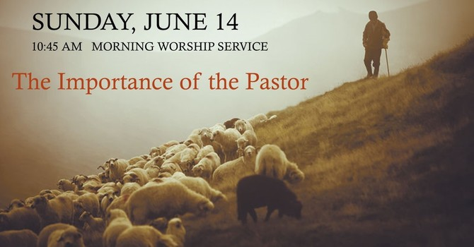 The Importance of the Pastor