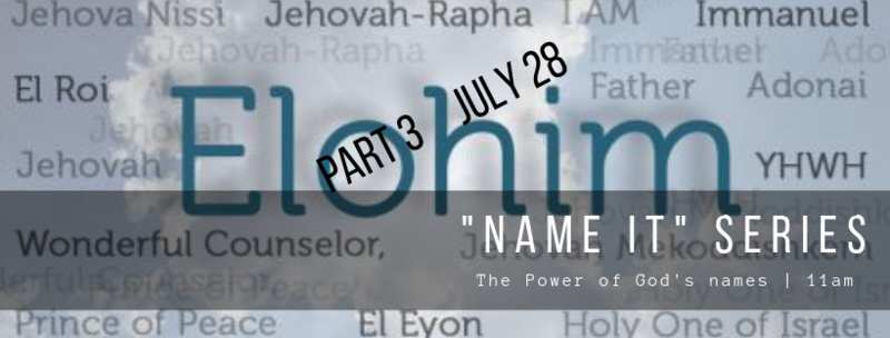 The Power of God's Names Part 3