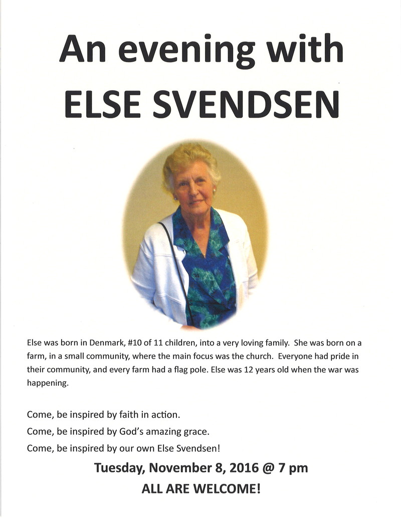 An Evening with Else Svendsen