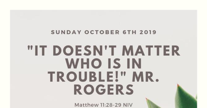 Sunday Bulletin - October 6, 2019 image