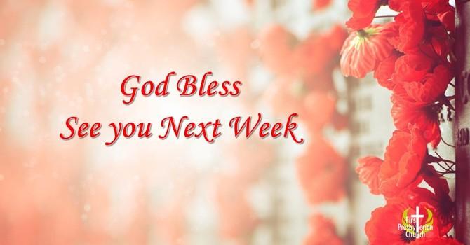 Sunday November 8 Message