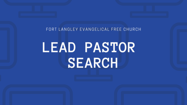 Lead Pastor Search Team