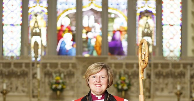 Bishop Susan Bell officially begins new role as Diocesan Bishop image