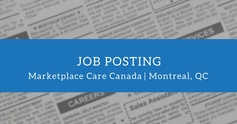 Job posting marketplace care canada