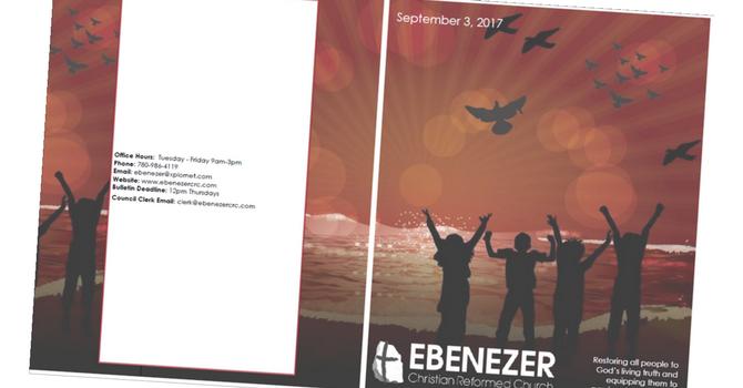 September 3, 2017 Bulletin image