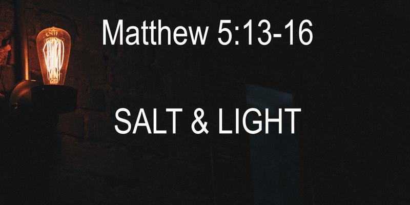 The Salt and The Light