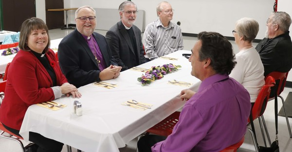 Anglicans and Lutherans Celebrate Shared Ministry in Edson