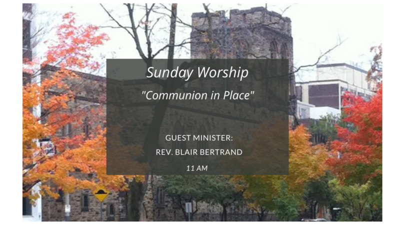 Communion in Place