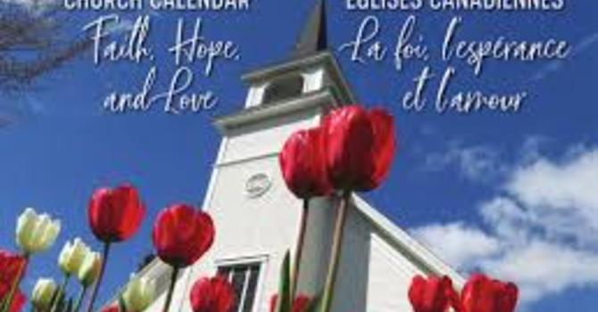2019 Church Calendars image