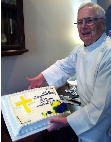 50th Anniversary of Ordination for Rev.  Maj. Turnbull