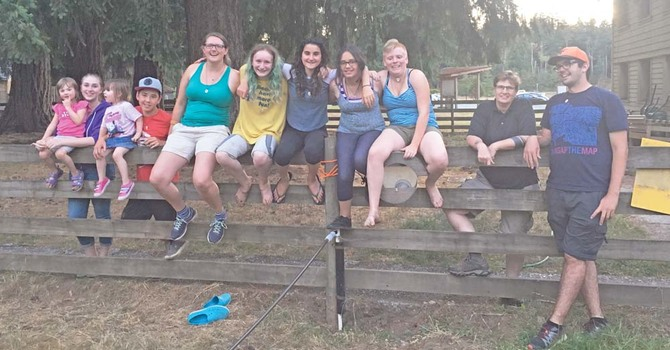 Sacred Earth Camp - growing young leaders