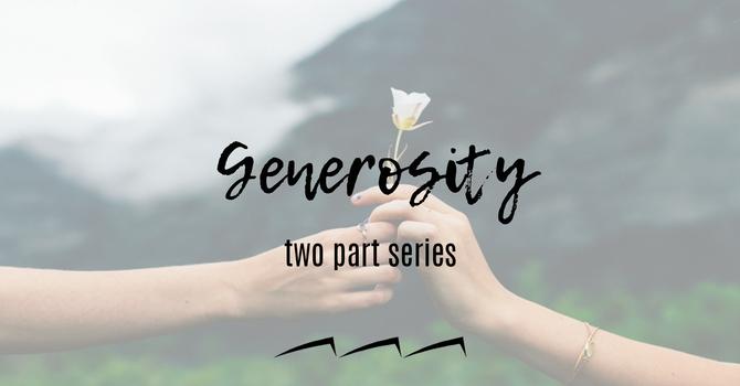 Why Generosity