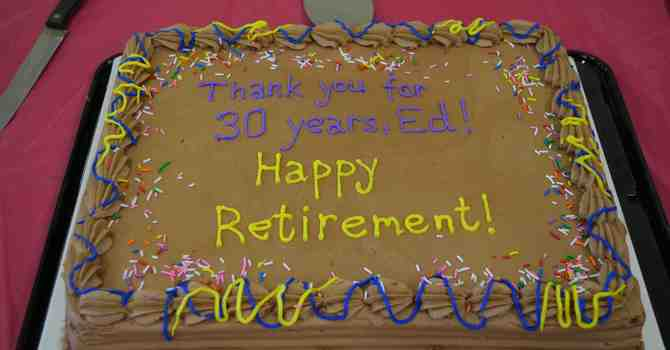 Retirement for Ed Crommelin image