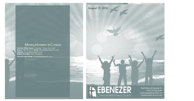 August 19, 2018 Bulletin image