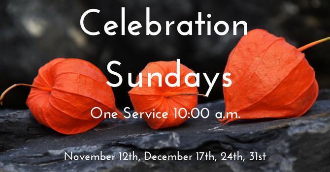 Celebration Sundays image