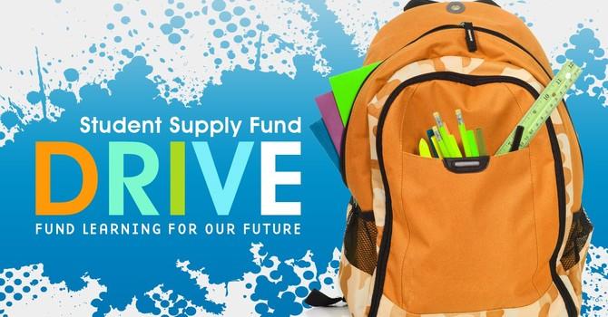 School Supplies Fund Drive image