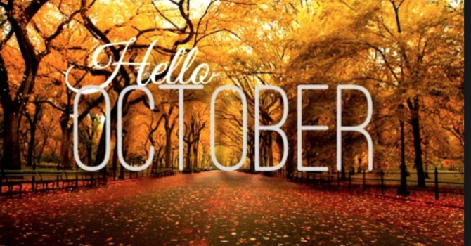 OCTOBER NEWS image