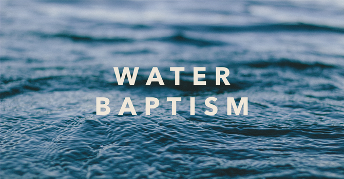 Water Baptism/Pipeline Service image