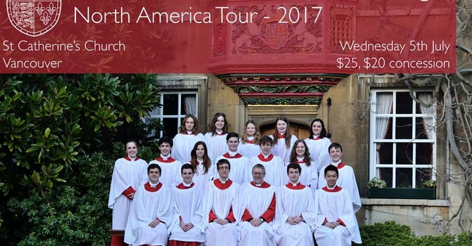 Christ's College Choir, Cambridge in Concert