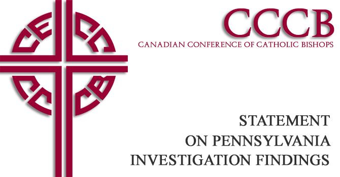 CCCB Statement regarding Pennsylvania investigation findings image