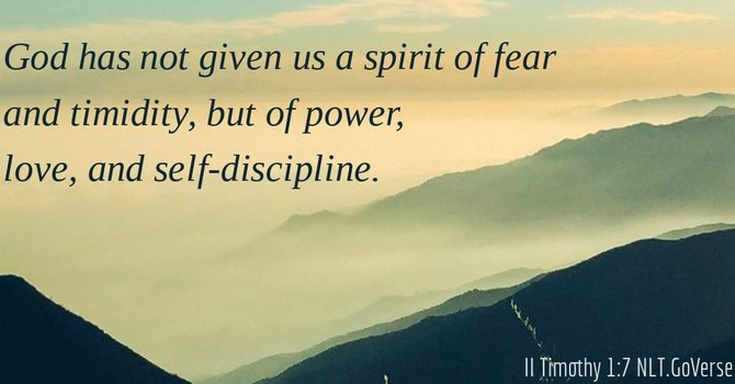 Addressing Fear In the House of God Part I