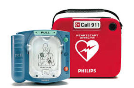 AED (Defibrillator)  Now On Site