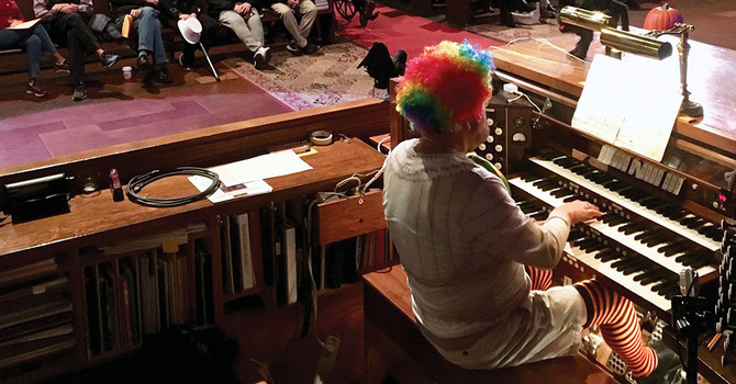 Annual Halloween Organ Recital