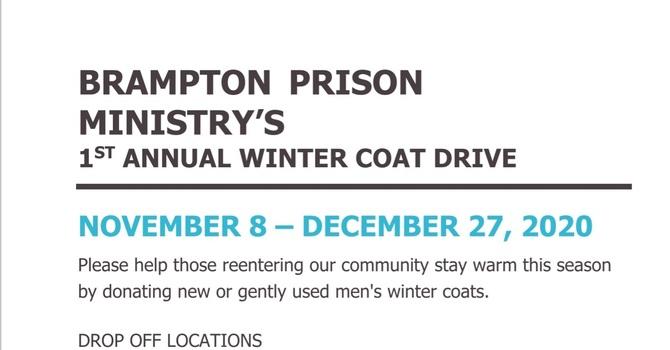 Brampton Prison Ministry Winter Coat Drive image