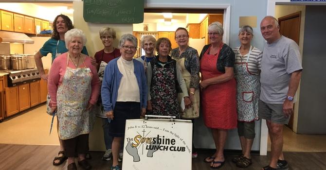 Sonshine Lunch Club Needs Volunteers! image