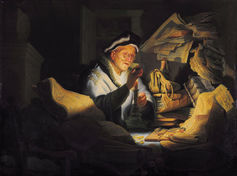 Rembrandt   the parable of the rich fool