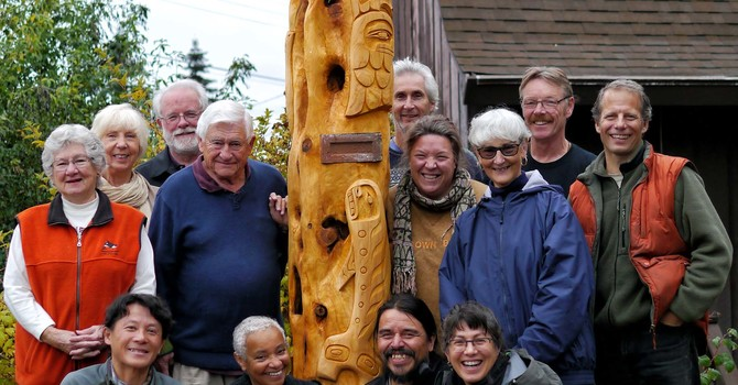UPDATE - A Very Sacred Moment –Powell River Carving