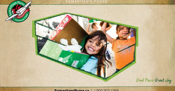 Operation Christmas Child Shoeboxes image