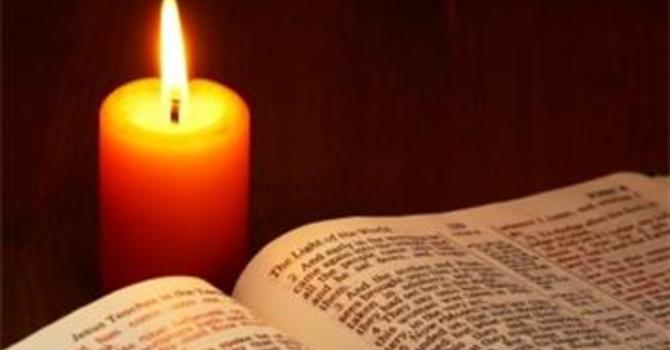 Join us for Evening Prayer on  Sundays and Wednesdays image