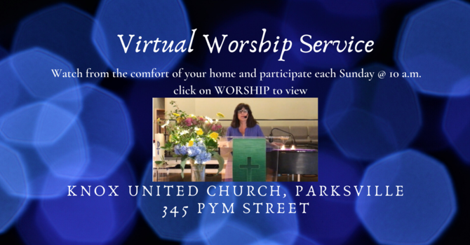 Virtual Worship Service image