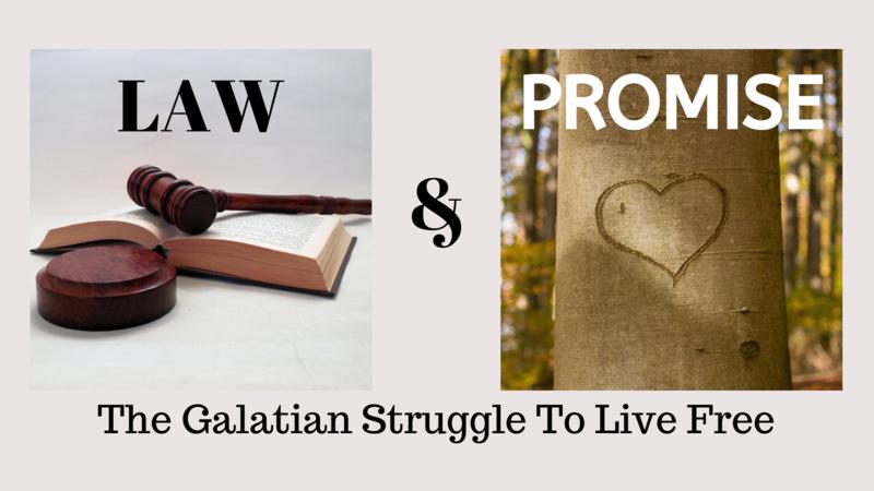 The Galatians struggle to live free